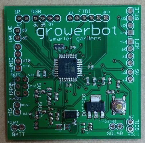 Growerbot - next generation Garduino | Circuits
