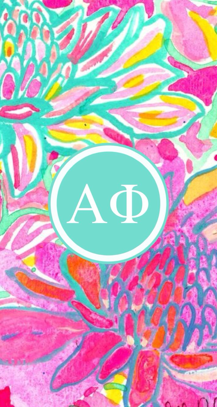 Alpha Phi Background by @kmhancock