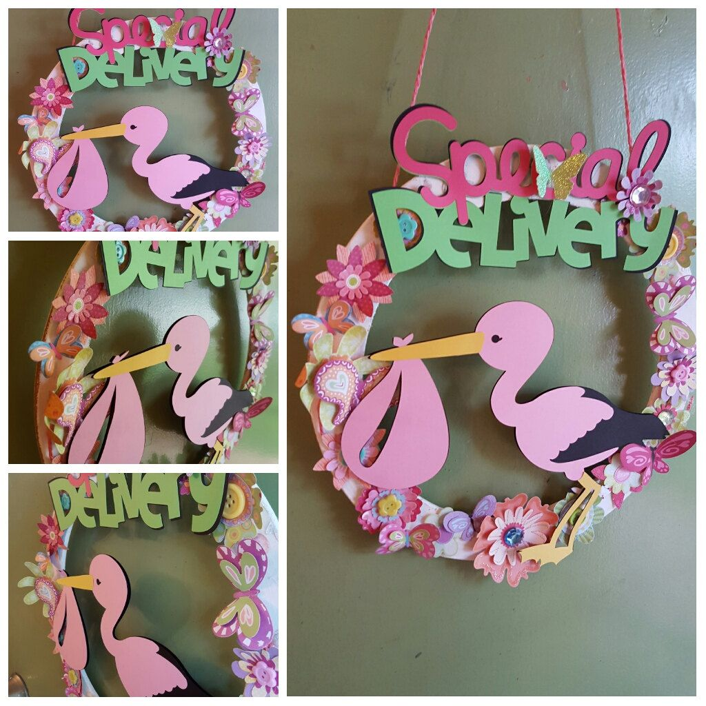 cartel hospital baby wreath welcome baby newborn its a