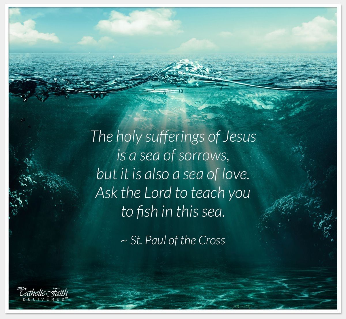 August image by Philomena Lewis Cross quotes, Catholic