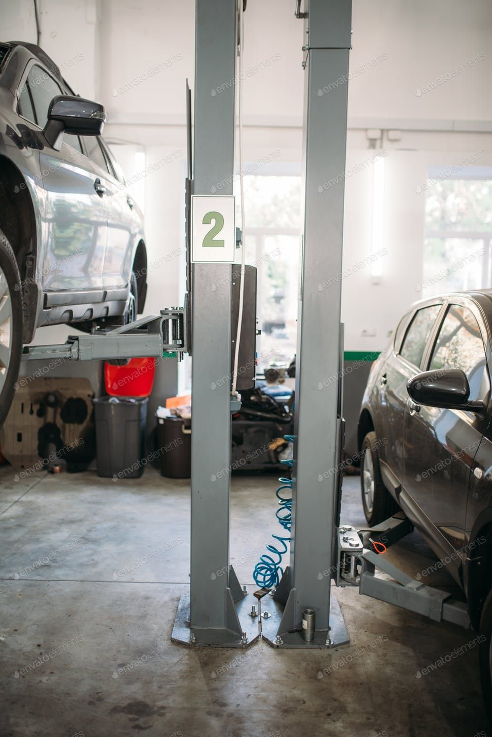 Car Repair On The Lift In Garage Nobody By Nomadsoul1 S Photos Ad Ad Repair Car Garage Lift Auto Repair Repair Car
