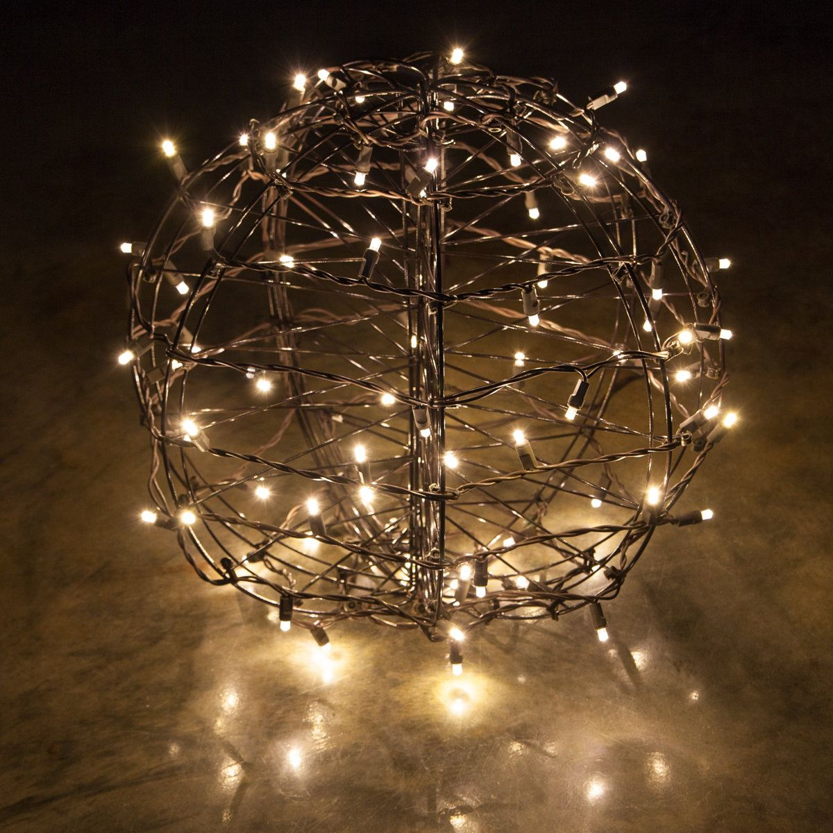 Lighted Party Sphere Warm White Led Yard Envy Hanging Christmas Lights Ball Lights Led Christmas Lights