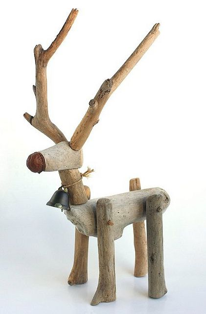 driftwood reindeer | Flickr - Photo Sharing!