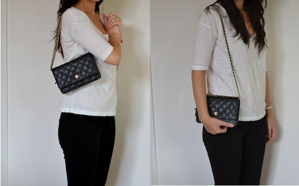 Chanel Quot Wallet On Chain Quot Bag Great Feature Post On How