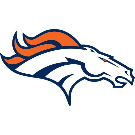 657dd14f Denver Broncos: Logo - Giant Officially Licensed NFL Removable Wall ...