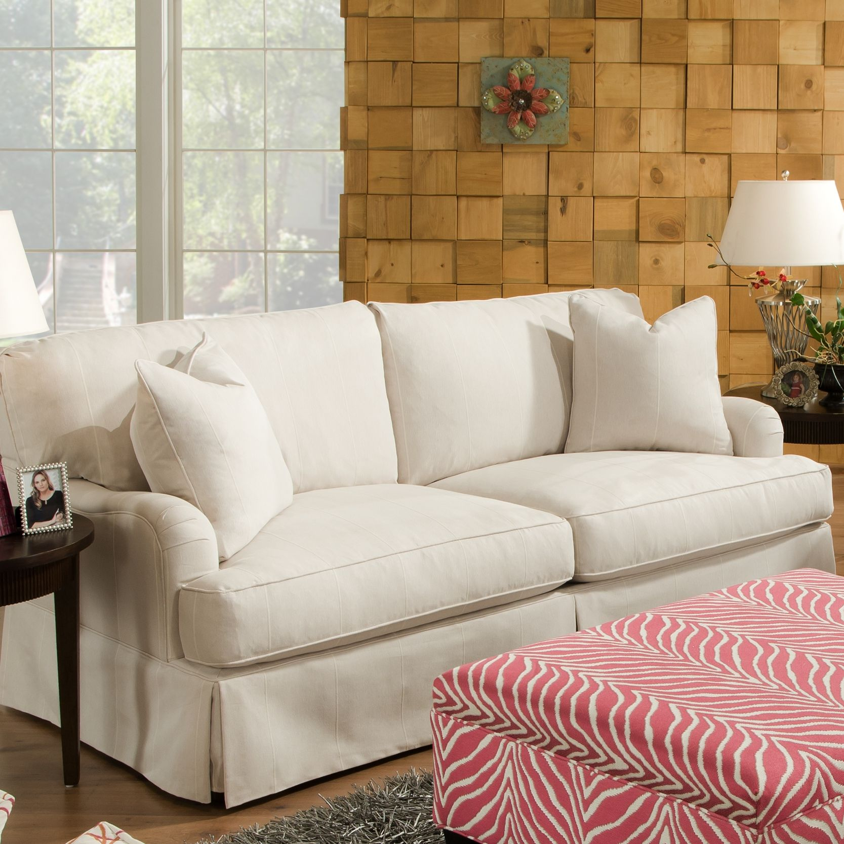 Bauhaus USA Campbell Fabric Sofa