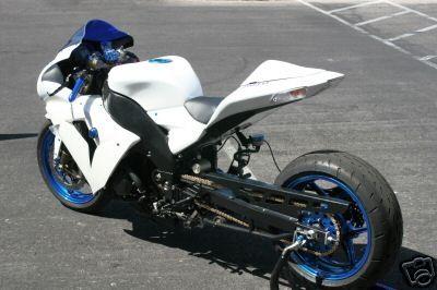 custom 99 ZX 10R | Kawasaki Ninja ZX-10R Custom Drag Bike - 2006