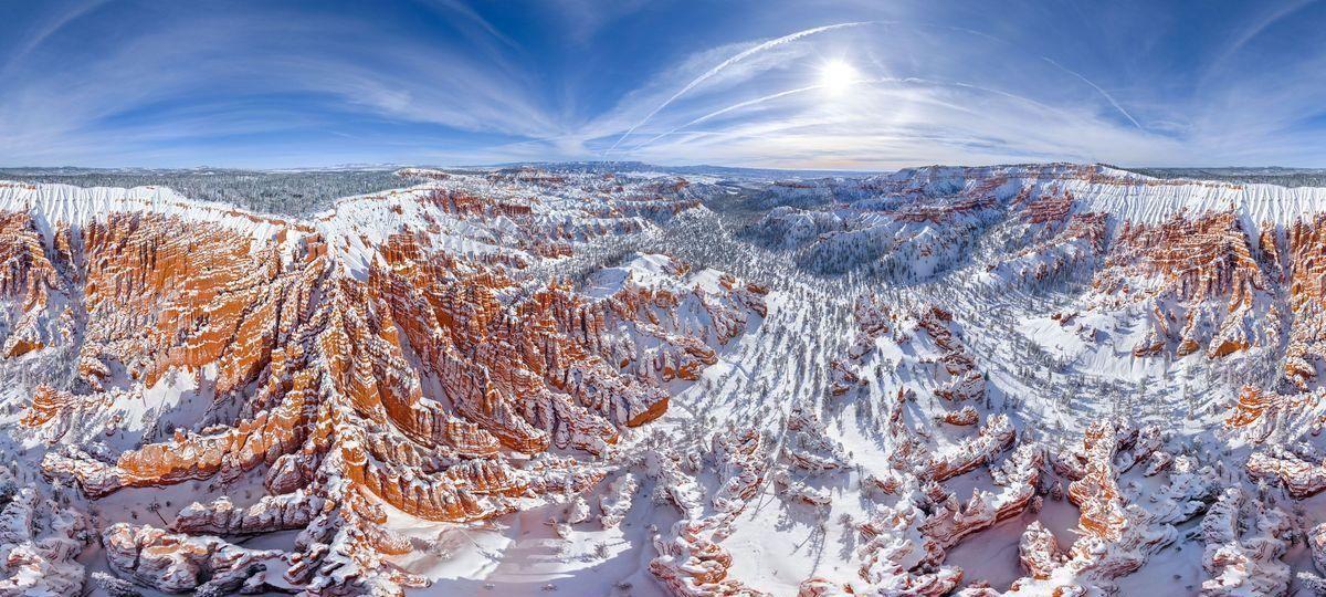 Le Parc national de Bryce Canyon dans l'Utah