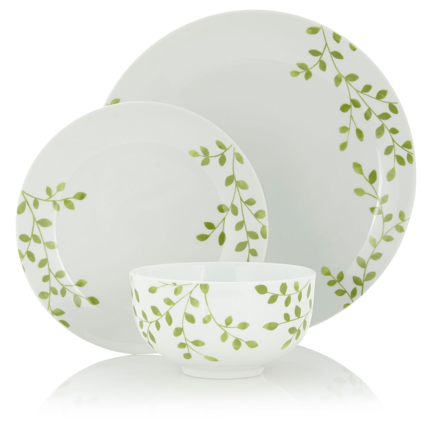 George Home Orchard Dinner Set 12 Piece Dinnerware Asda Direct George Home Dinner Sets Tableware