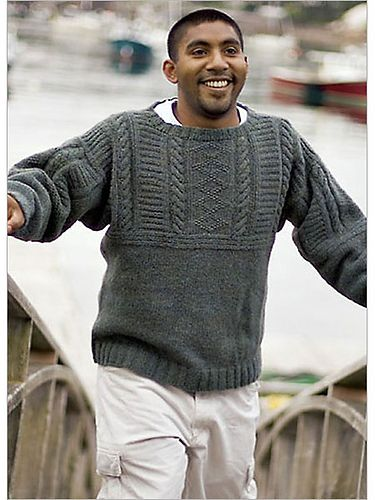 Ravelry Old Way Gansey Pattern By Ann Budd Jumpers For Men
