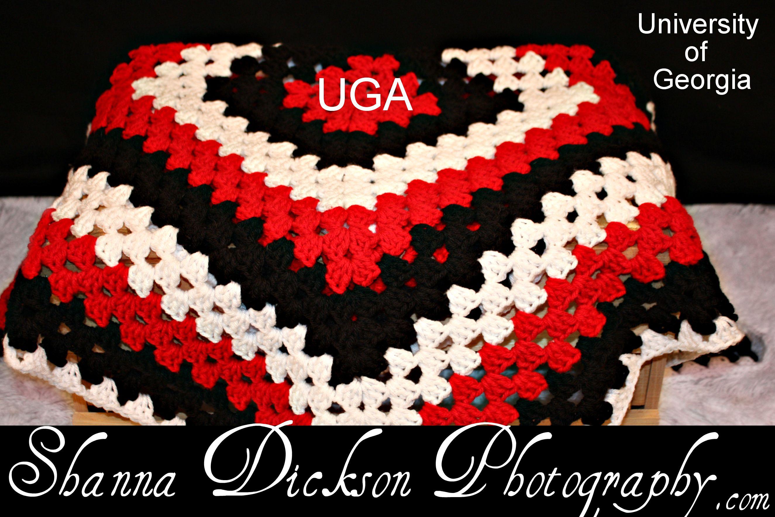 Uga Swaddle Me Mommy Baby Blanket By Crafty Crocheting Elithea