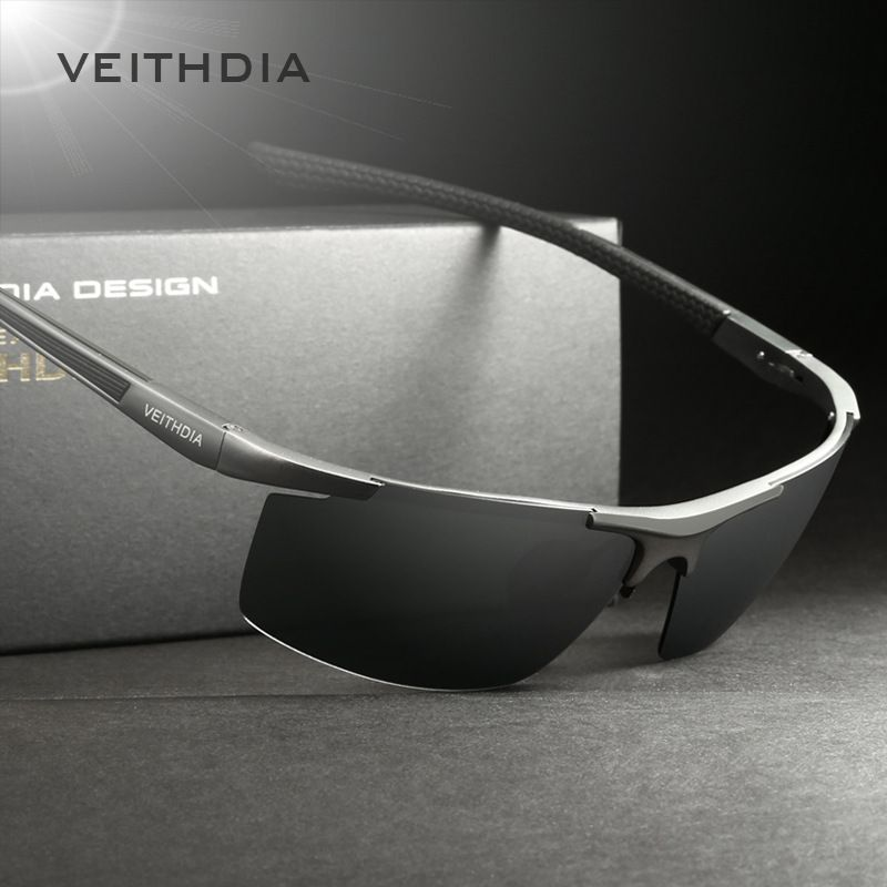 b65b37cee6 VEITHDIA Aluminum Magnesium Men s Sunglasses Polarized Coating Mirror Sun  Glasses oculos Male Eyewear Accessories For Men 6588 Like and share!