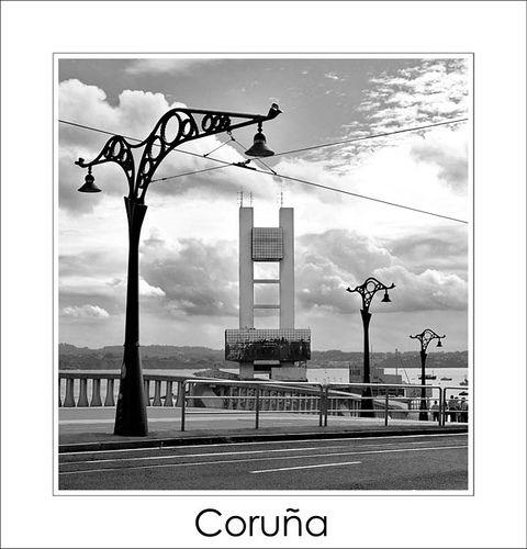 Torre De Control Marítimo La Coruña Spain Galicia