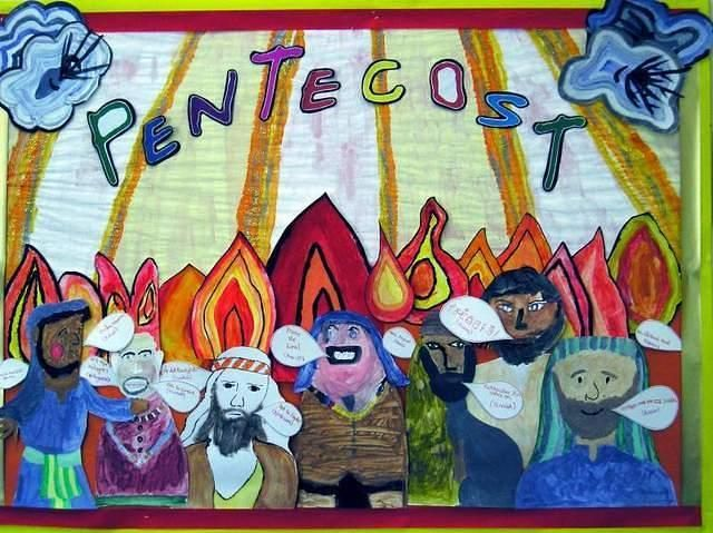 Pentecost Wall Display Google Search Pentecost border=