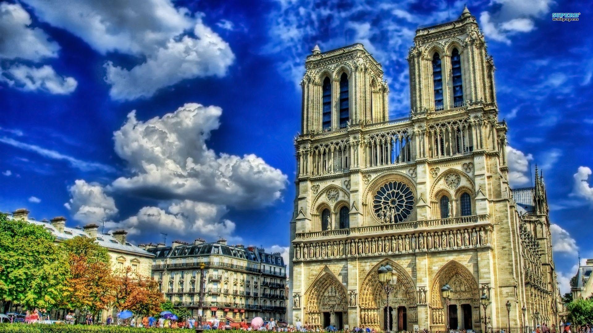Cathédrale Notre Dame De Paris Lugares Y Espacios