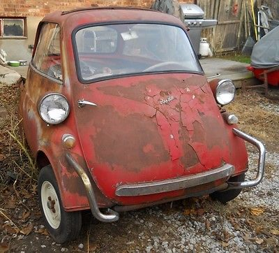 EBay 1957 BMW Other Isetta 300 Restoration Project Barn Find Microcar Bubble Car