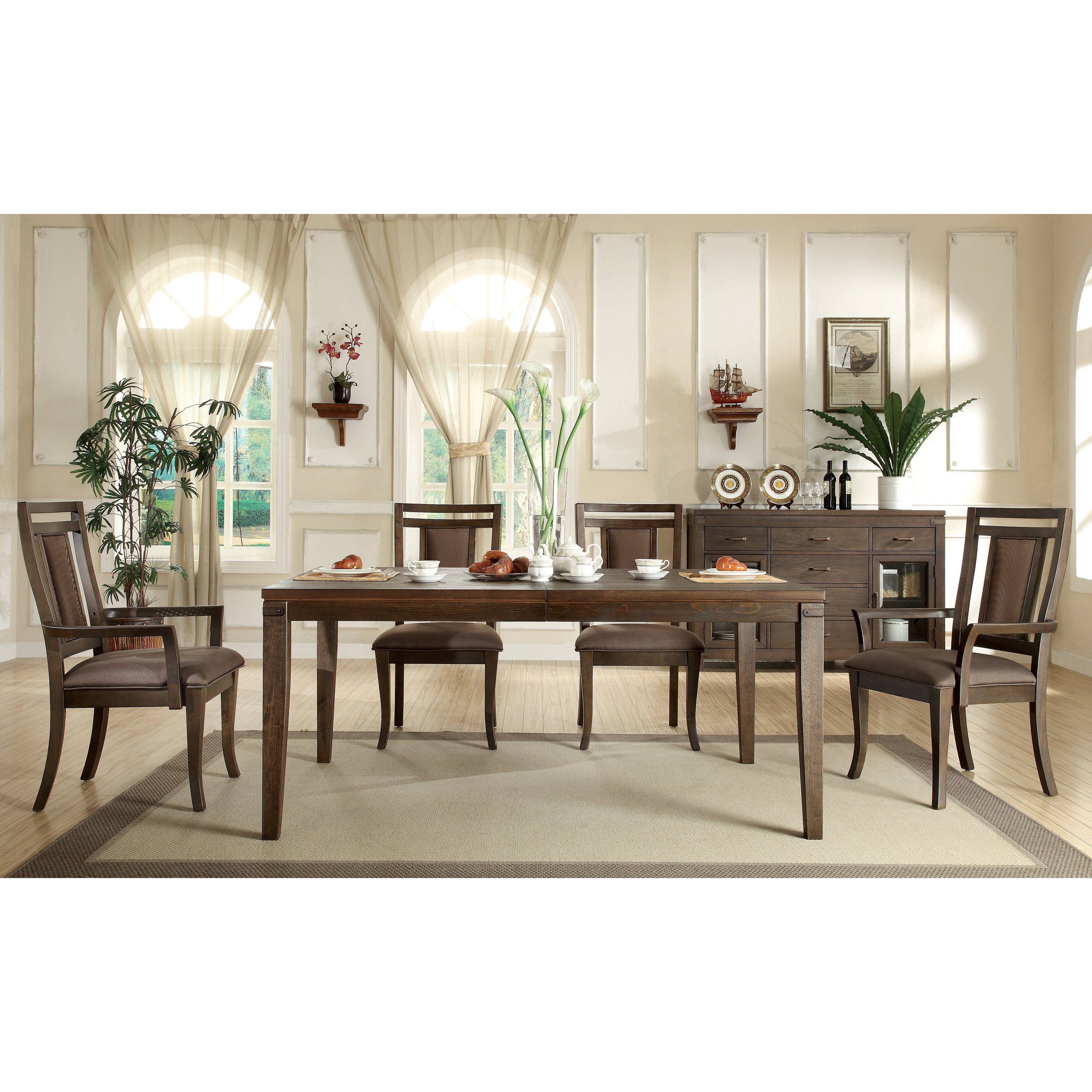 Have to have it Riverside Promenade Rectangular 7 Piece Dining