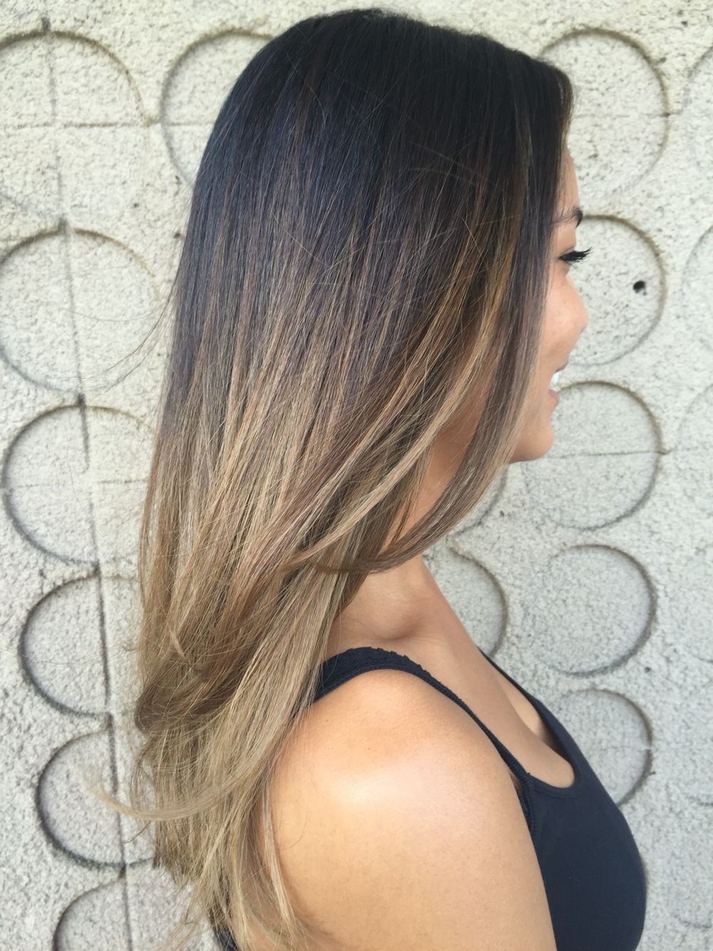 Perfect blended Sombre  Hair by: Shanon conte