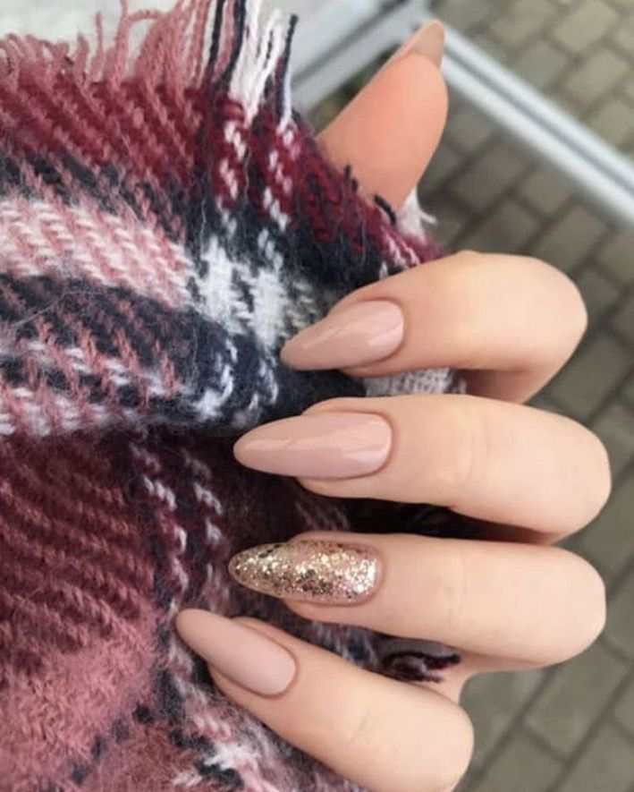 Photo of 33 beautiful nail designs in autumn ideas for every occasion – autumn… – hair, makeup, nails – NailiDeasTrends – nail art – Gulbahca Blog – Amy