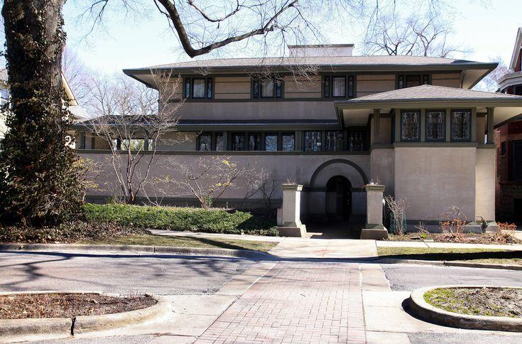 Frank Lloyd Wright - A Portfolio of Selected Architecture: 1901: Frank W. Thomas House