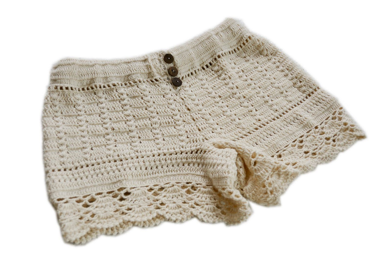Crochet shorts without pattern | Pant | Pinterest | Buscar con ...