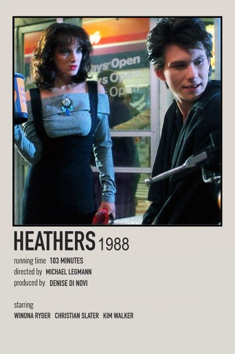 1988 Heathers Movie POSTER