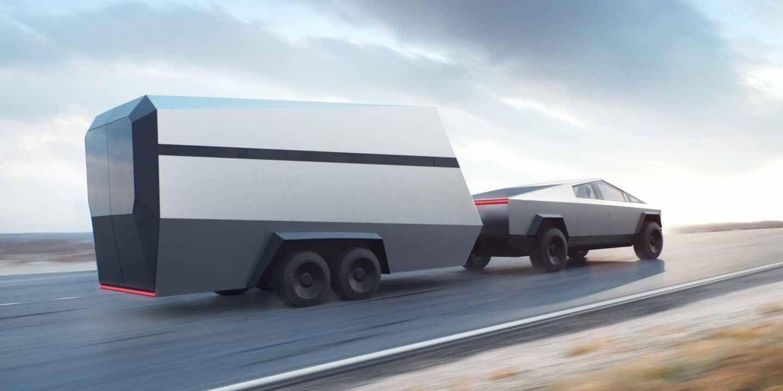 Tesla Cybertruck Single Motor Tesla Electric Pickup Electric Pickup Truck