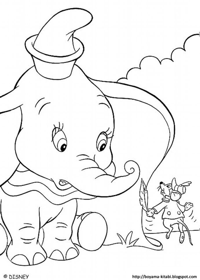 Dumbo Disney Coloring Page Elephant Coloring Page Disney Coloring Pages Cartoon Coloring Pages