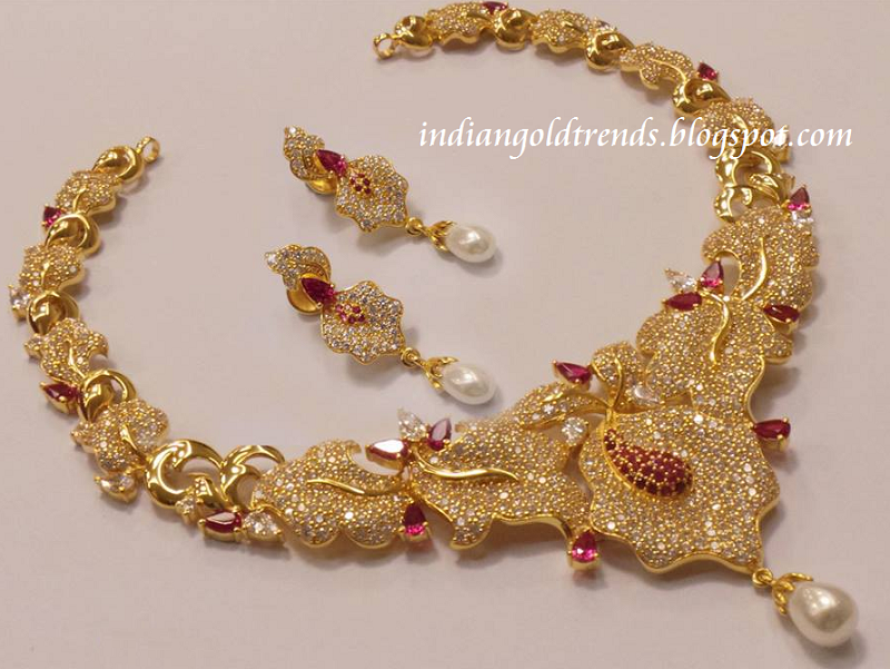 indian-gold-jewellery-necklace-designs-eyes-image-BUOM.jpg (800 ...