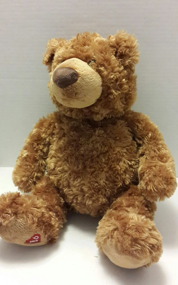 "NWT Gund Lanky 15/"" Chocolate Brown Plush Teddy Bear"