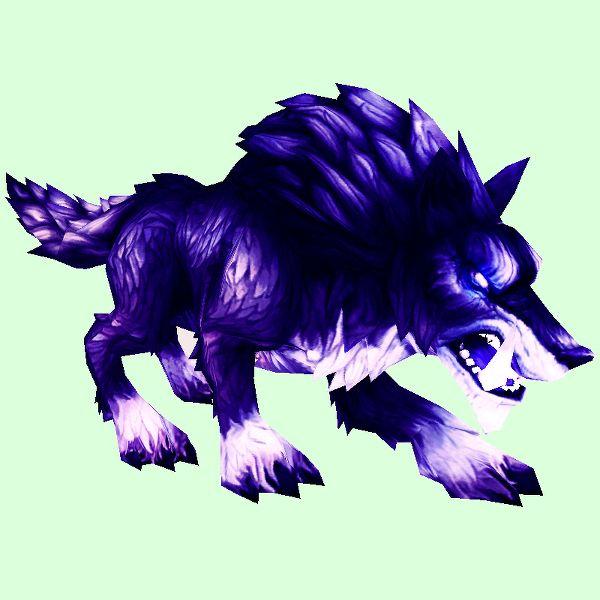 Shadowy Draenor Wolf Shadowy Draenor Wolf World Of Warcraft Pets Wolf