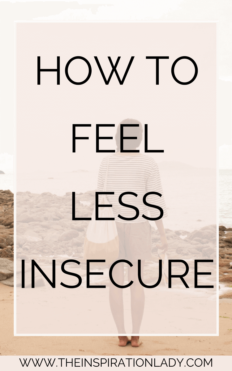 images How to Be Less Insecure