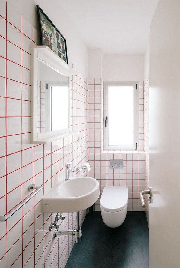 tile grout colors red bathroom wall tiling | http://room-decorating ...