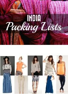 check out our india packing list and let us know what you think visit