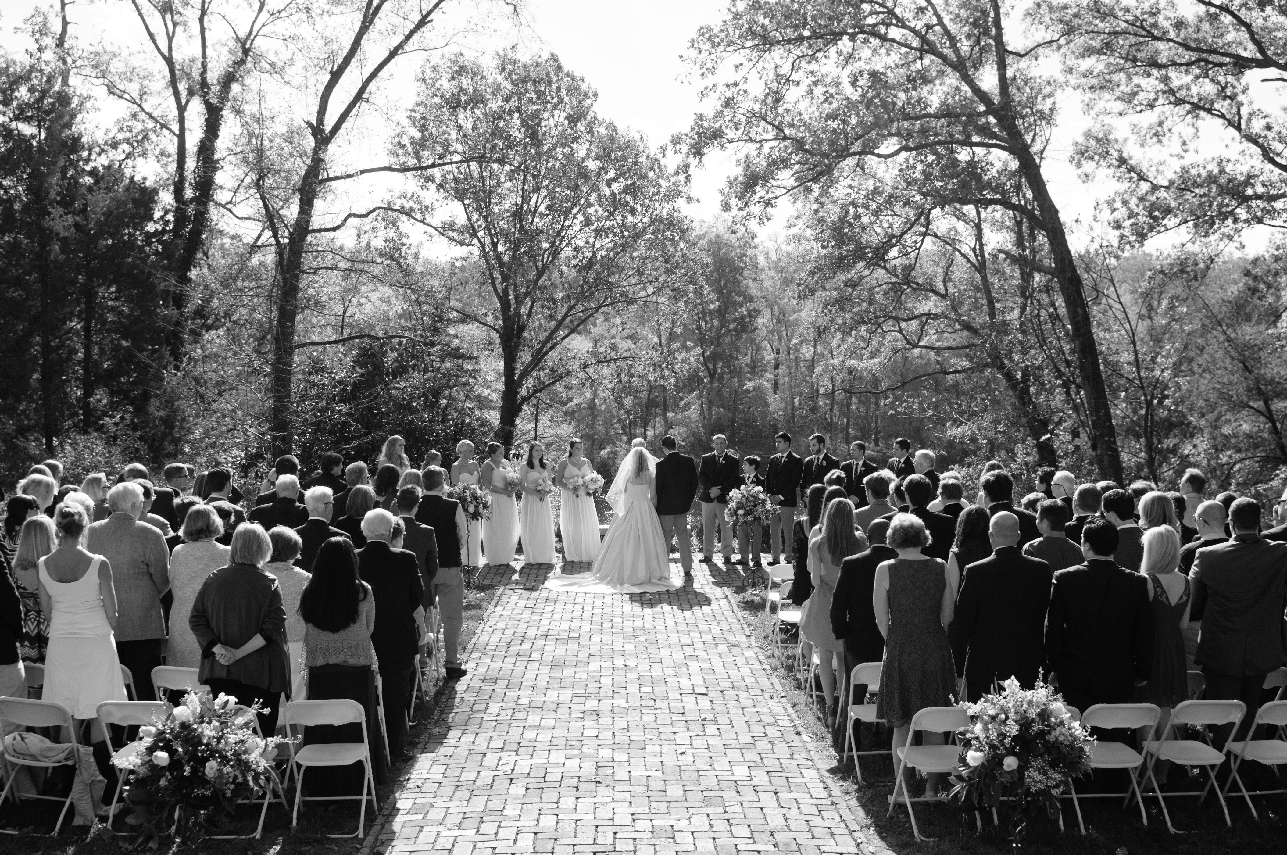 Ceremony Site At Wilton House Richmond Virginia Wedding The