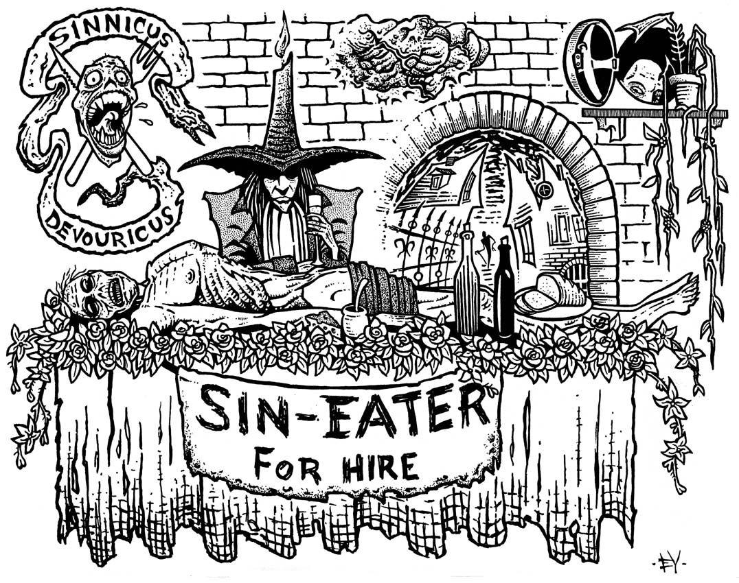 """Результат пошуку зображень за запитом """"Sin-Eater site:pinterest.com"""""""