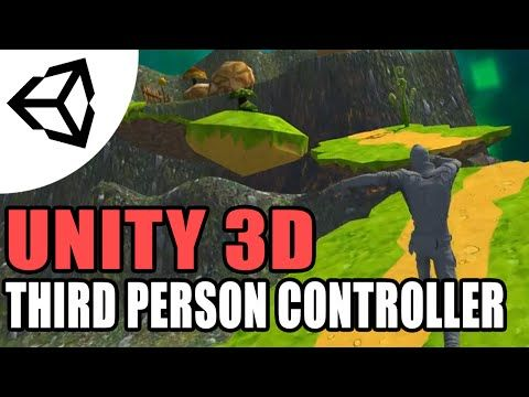 Unity 5 Third Person Controller [Tutorial][C#] - Unity 3d - YouTube