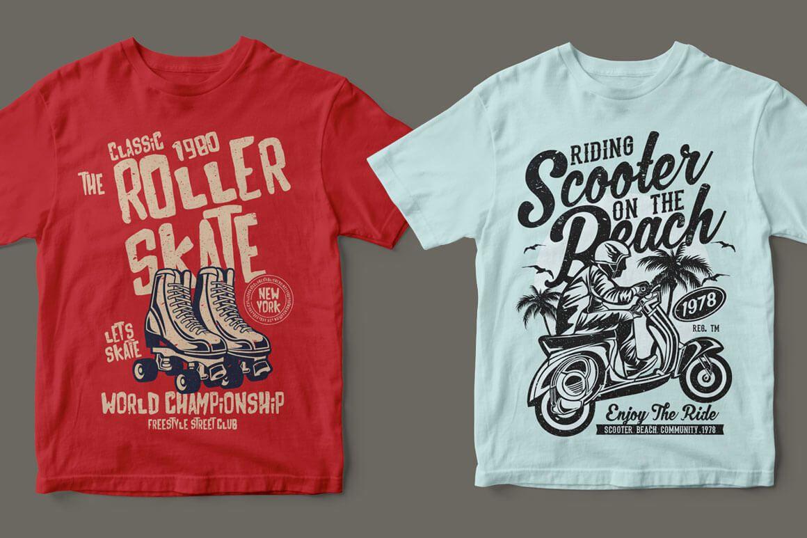 9ae57d48732 Tshirts Designs Bundle