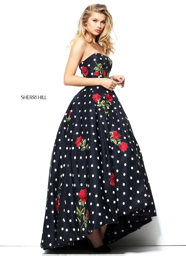22+ Polka dotted prom dress ideas in 2021