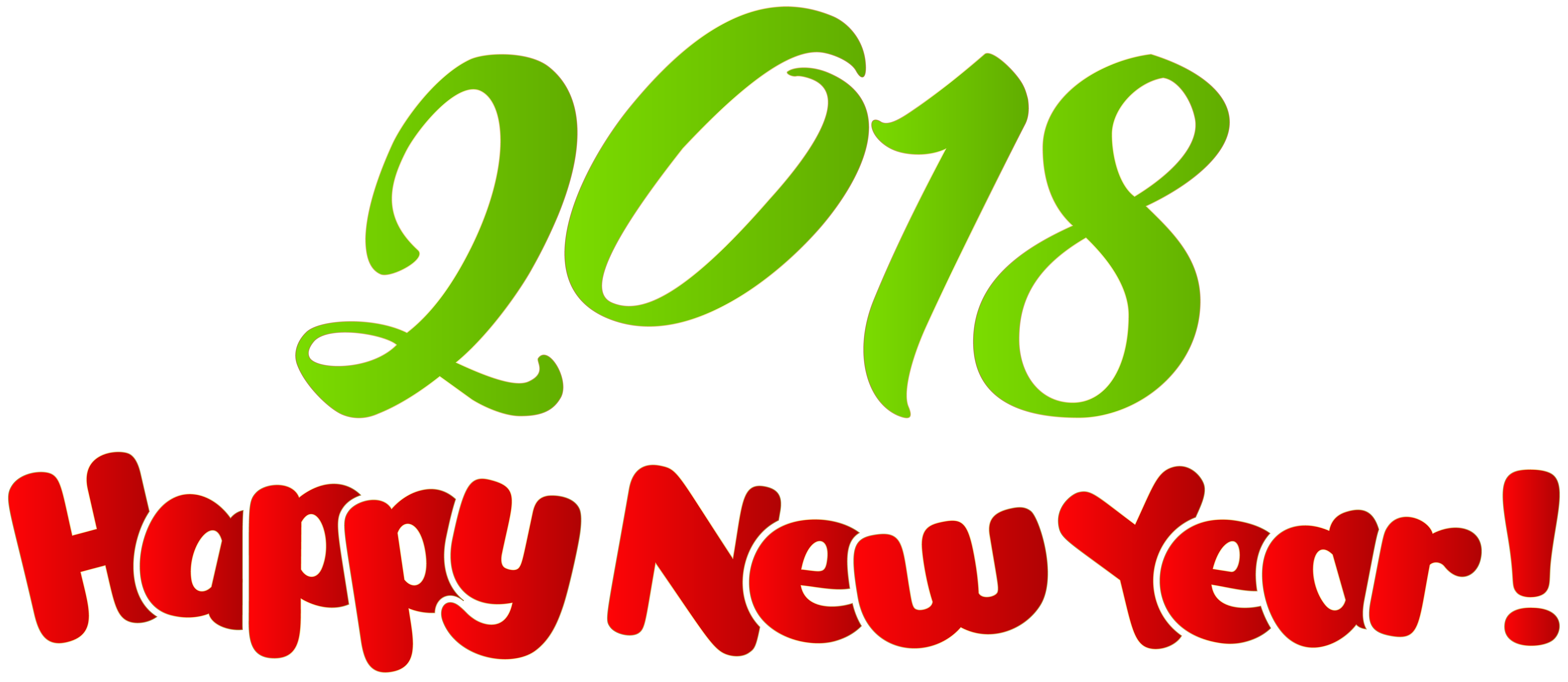 2018 Happy New Year PNG Clip Art Image Gallery