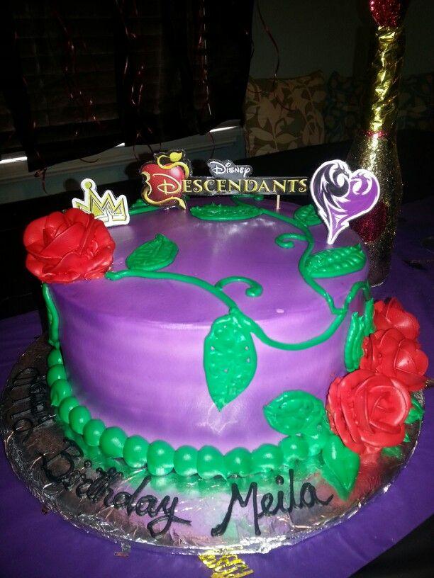 Descendants Cake Designs : My daughter s descendants cake meila s birthday party ...