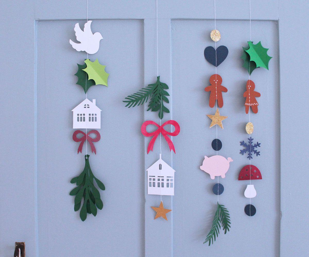 Jule Klippe skabeloner (Den Kreativesky)