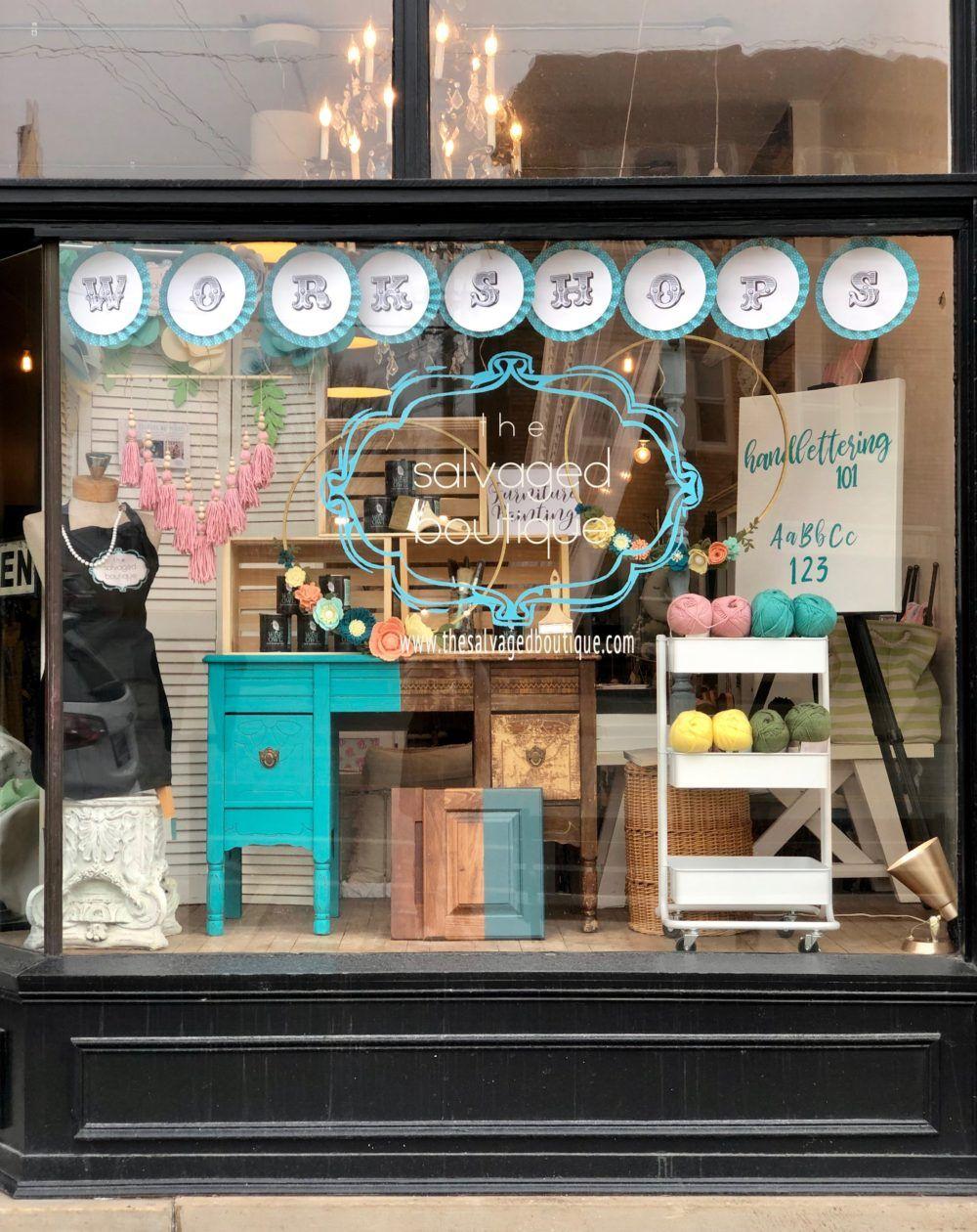 Diy Window Display Ideas For A Brick And Mortar Store Darice Window Display Retail Diy Window Store Window Displays Showroom showcase eye candy