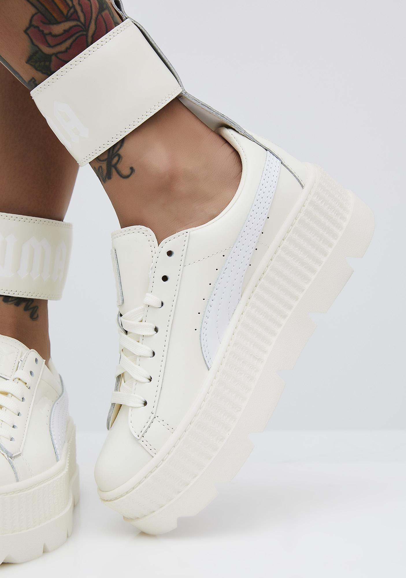 Rihanna Ankle Strap Sneaker