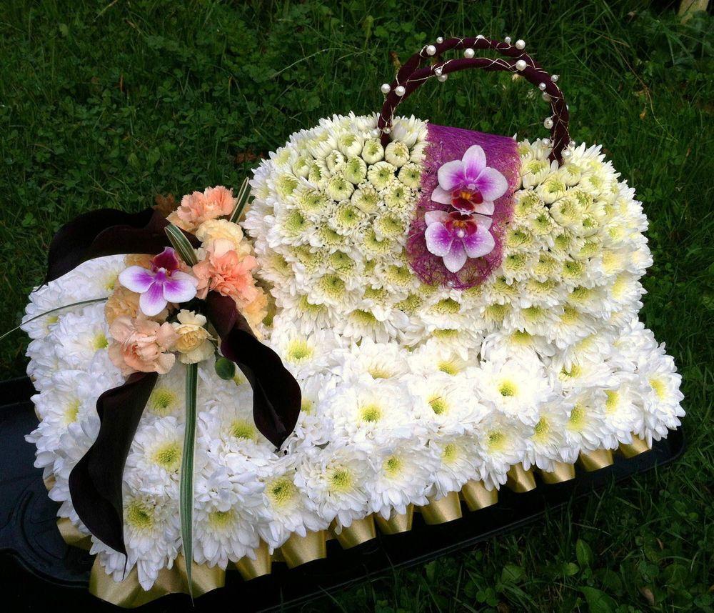 Fresh flower funeral 3d handbag bespoke tribute delivery west sussex fresh flower funeral 3d handbag bespoke tribute delivery west sussex only izmirmasajfo Image collections