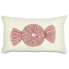 Fa La La Peppermint Twist Lumbar Pillow