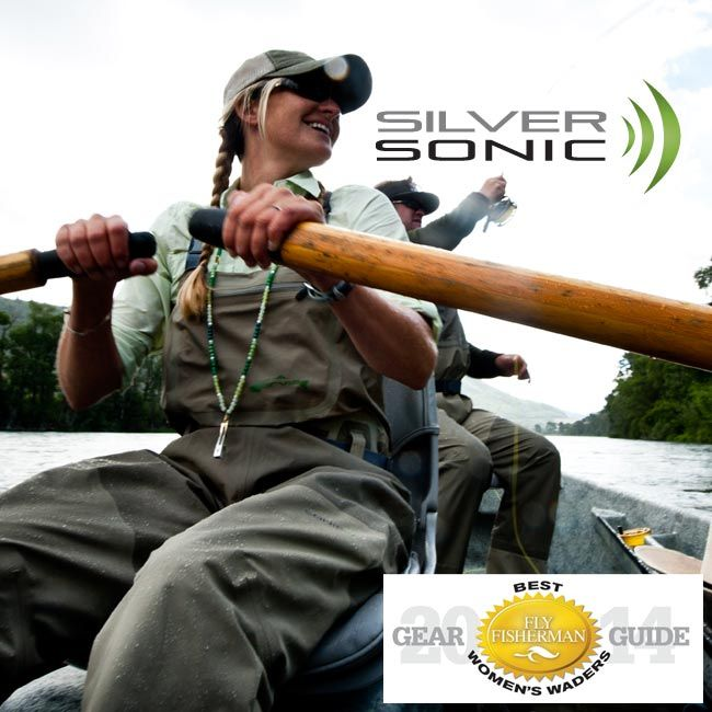 Silver Sonic Convertible Top Chest Waders Waders Female Angler Fishing Gear