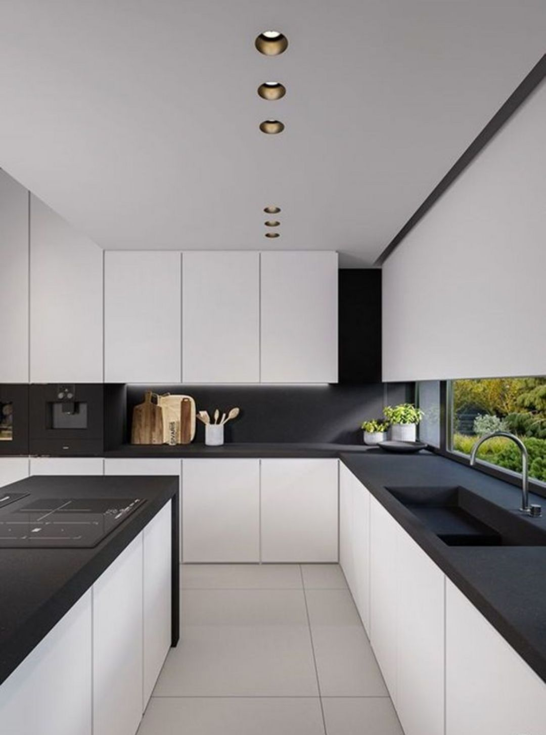 Amazing Here Are 15 Modern Minimalist Kitchen Design Ideas In 2019 White Kitchen Decor White Kitchen Design Kitchen Cabinet Design