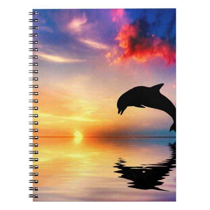 Dolphin Journal/Notebook Notebook | Zazzle.com