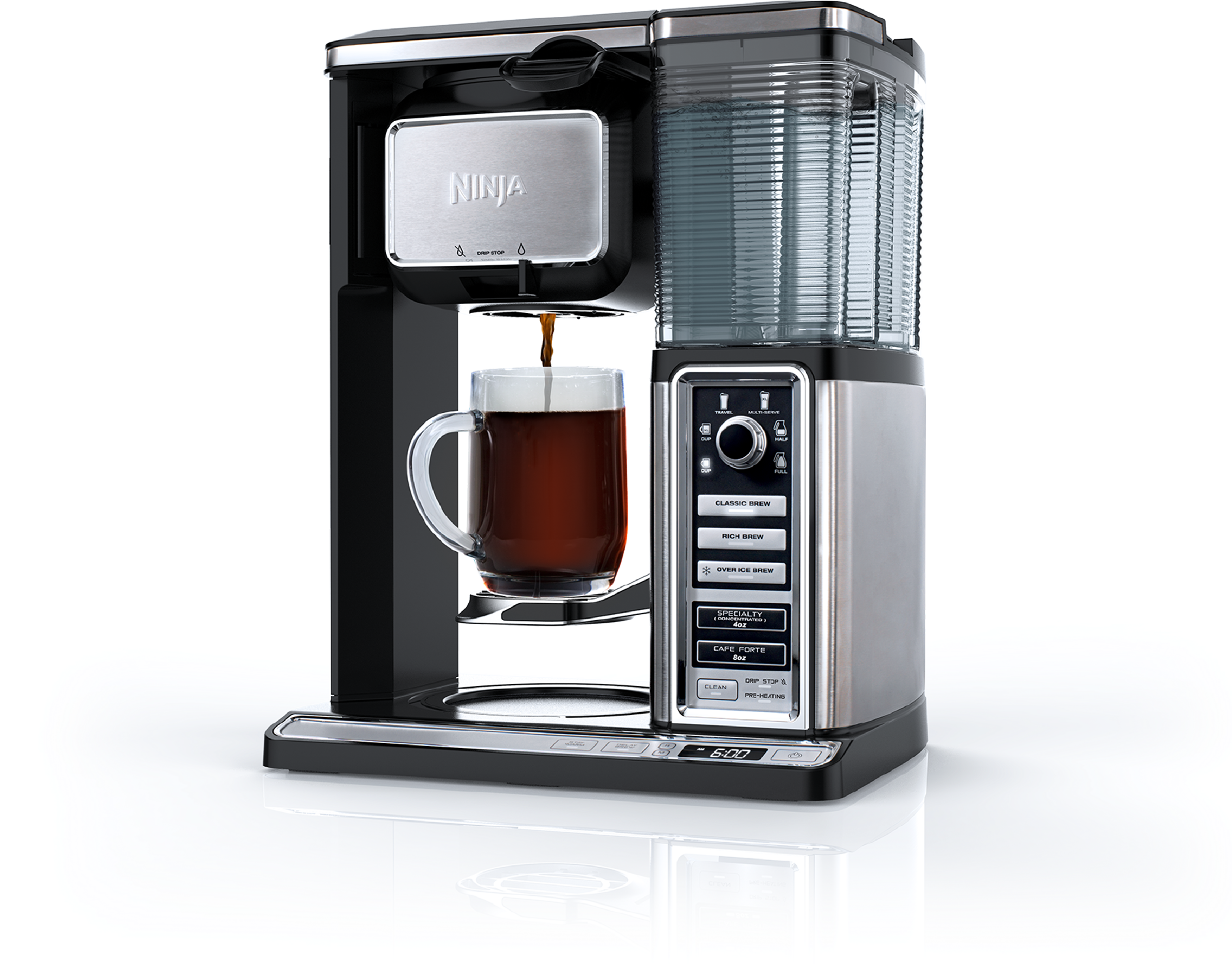 It's more than a coffeemaker. The nextgeneration Ninja